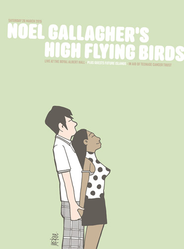 Pete McKee limited edition Teenage Cancer Trust prints