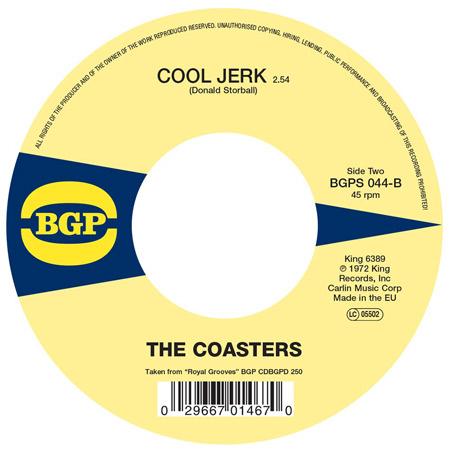 Reissue 45: The Coasters - Love Potion Number Nine / Cool Jerk on BGP