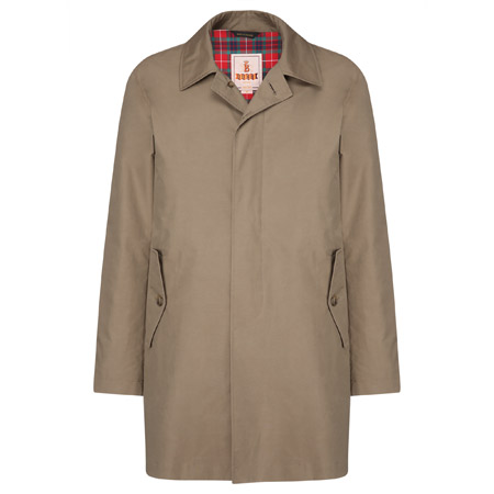 Ready for the rain: Baracuta G10 overcoat