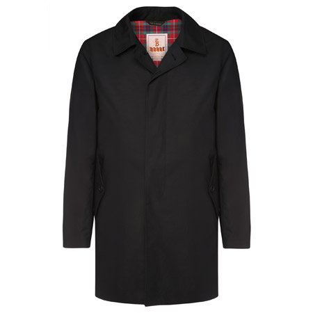 Ready for the rain: Baracuta G10 overcoat