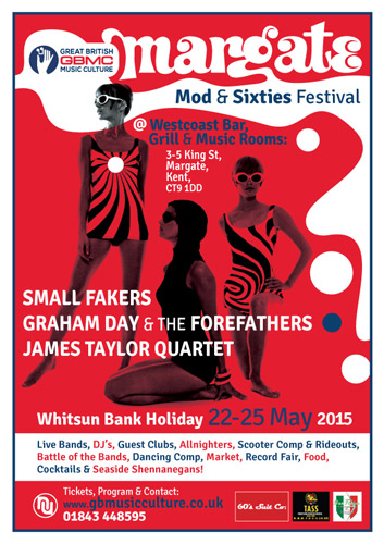 Whitsun back holiday Margate mod and sixties festival