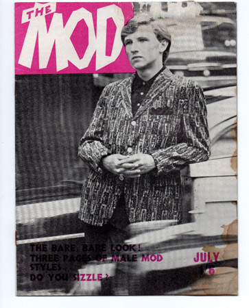 eBay watch: Issues 5 and 10 of The Mod magazine