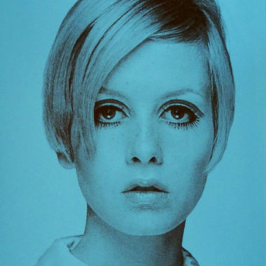 Twiggy I and Twiggy II silkscreen prints by David Studwell