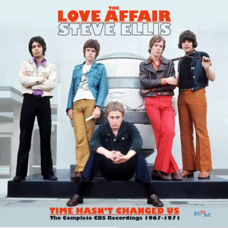 Coming soon: Love Affair / Steve Ellis - Time Hasn't Changed Us The Complete CBS Recordings 1967-1971 box set
