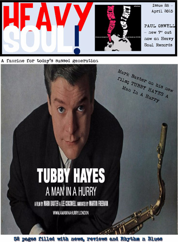 Issue 28 of Heavy Soul mod fanzine now available