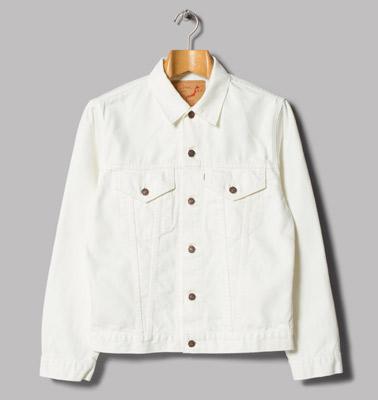 OrSlow 60s white denim jacket