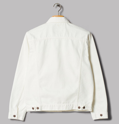 OrSlow 60s white denim jacket