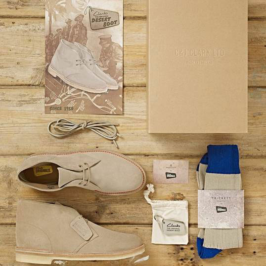 Clarks Originals 65th anniversary limited edition desert boots