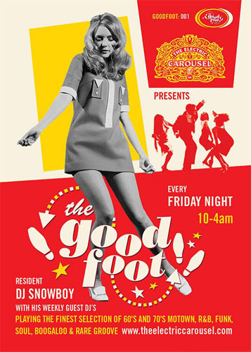 The Good Foot night returns to London