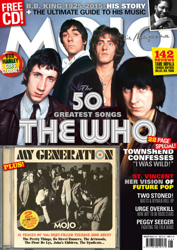 Mojo magazine celebrates The Who