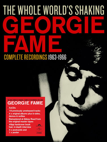 Coming soon: Georgie Fame – The Whole World's Shaking 1963-1966 box sets