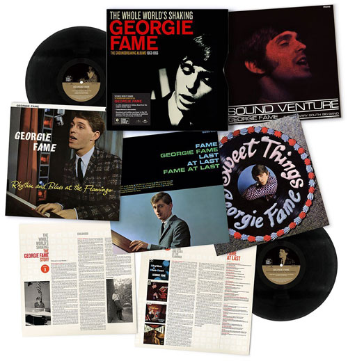 Coming soon: Georgie Fame - The Whole World's Shaking 1963-1966 box sets