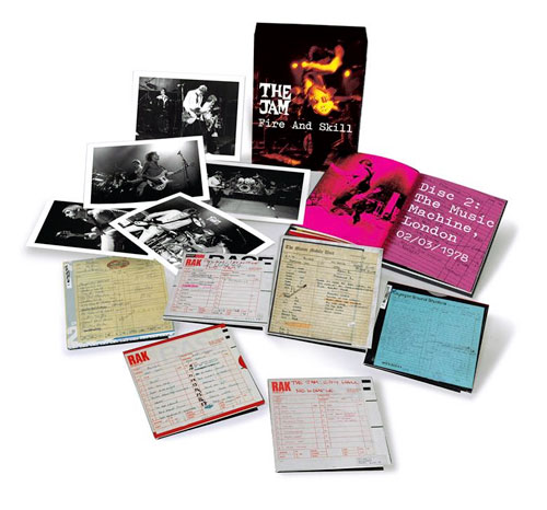Coming soon: Fire & Skill: The Jam Live six CD box set