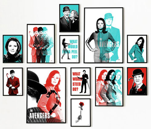 The Avengers officially-licensed pop art prints by Art & Hue