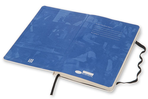 Limited edition Blue Note notebooks by Moleskine
