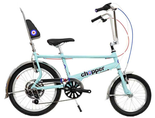 Mod-inspired 2015 Raleigh Chopper now available in limited numbers