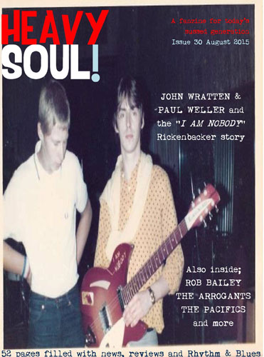 Coming soon: Heavy Soul! modzine issue 30