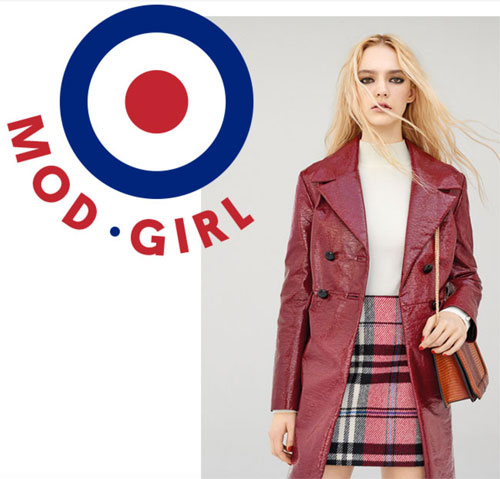 Topshop introduces a Mod Girl collection
