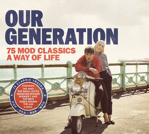 Out now: Our Generation – 75 Mod Classics Box Set and promo video