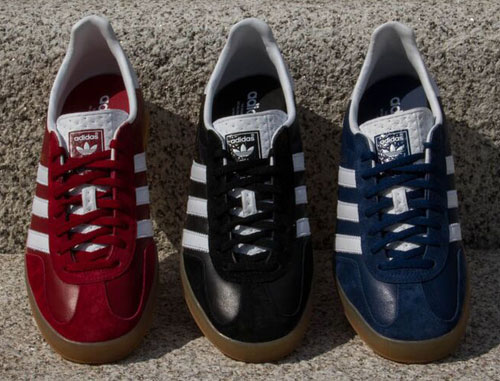 Adidas Gazelle Indoor leather trainers reissue