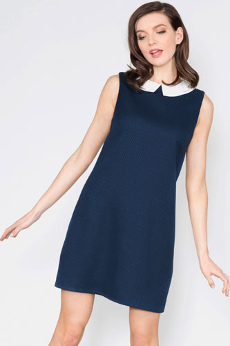 1. Chloe Collar Jacquard Dress at Sugarhill Boutique