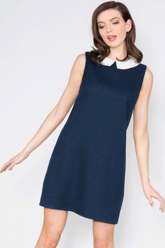 1. Chloe Collar Jacquard Dress at Sugarhill Boutique