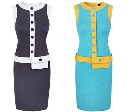 2. Ophelia 1960s-style shift dress at Bob by Dawn O'Porter