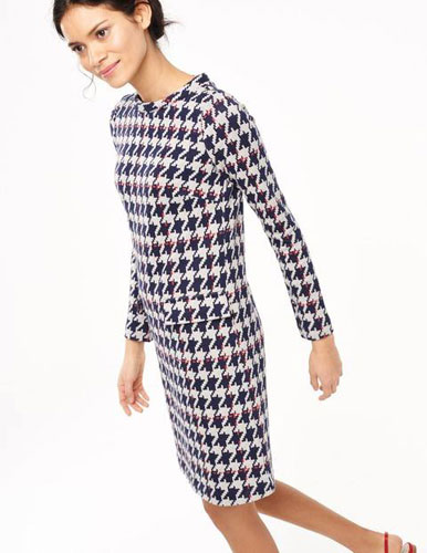3. Sixties Jacquard Tunic Dress at Boden