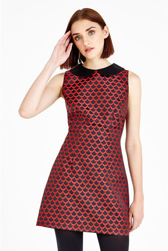 6. Louche Haylie Sixties Shift Dress