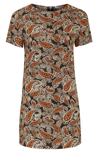 7. Printed Shift Dress by Glamorous