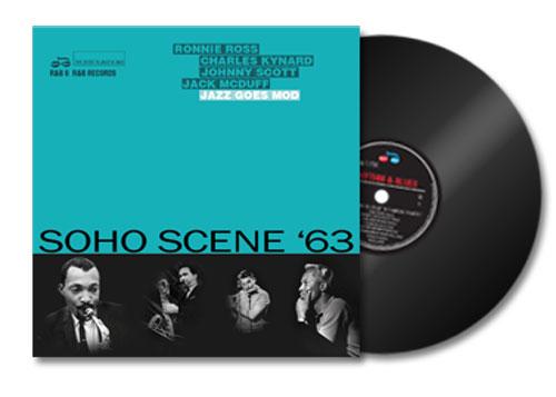 Vinyl release: Soho Scene '63 Jazz Goes Mod