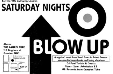 Spotify playlist: The Golden Age of Blow Up in London