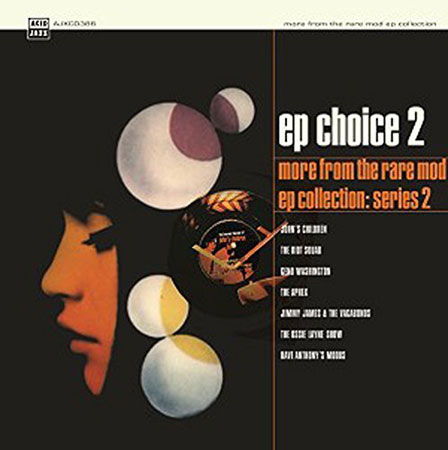 Coming soon: EP Choice 2 – More From The Rare Mod EP Collection (Acid Jazz)