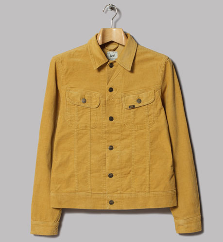 Lee Rider honey cord corduroy jacket