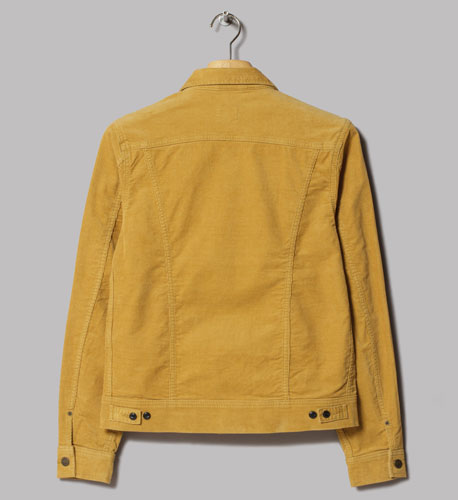 Lee Rider honey cord corduroy jacket