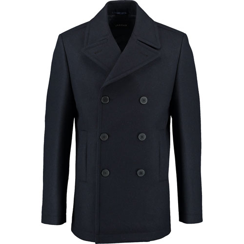 Bargain spotting: Jaeger navy pea coat at TK Maxx online
