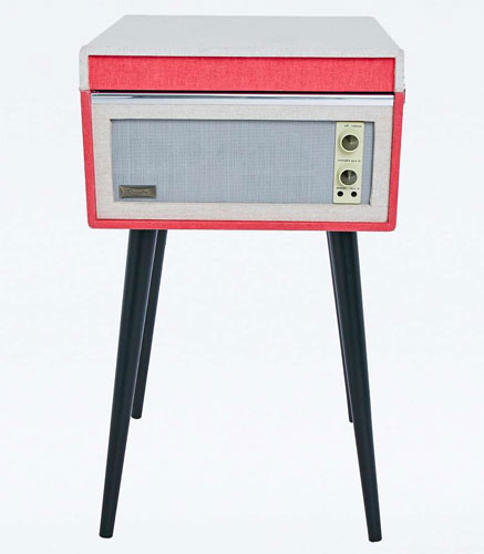 1960s-style UO X Dansette Bermuda standing record player