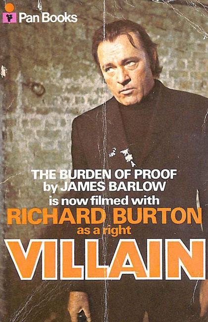 Burden Of Proof by James Barlow (Pan)