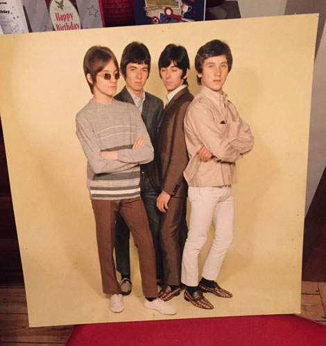 eBay watch: 1960s Small Faces shop display panel