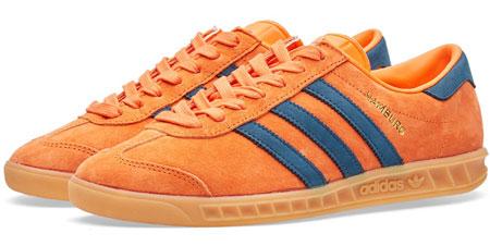 1970s Adidas Hamburg trainers back in three shades - Modculture
