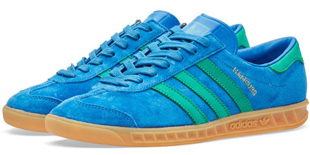 1970s Adidas Hamburg trainers back in three shades