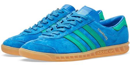 1970s Adidas Hamburg trainers back in three shades