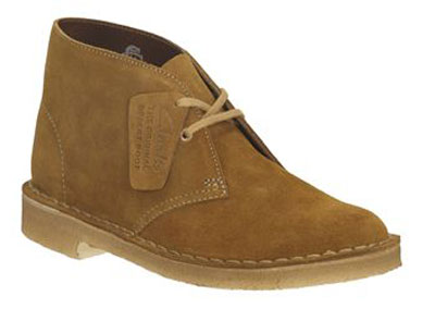 Clarks sale now on – desert boots at 30 per cent off
