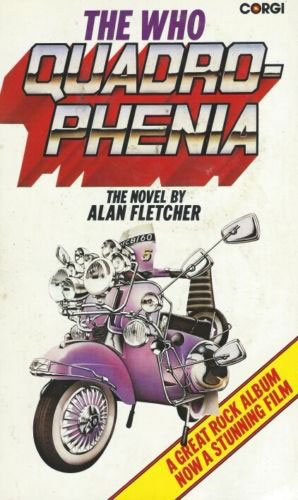 Quadrophenia paperback by Alan Fletcher