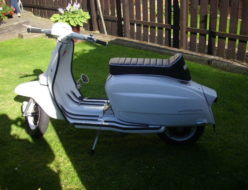 1962 Lambretta Li 150 Series 3 on eBay