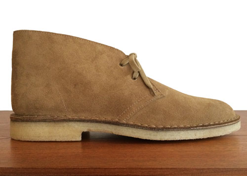 Launching tomorrow: Hutton limited edition Type 01 desert boots