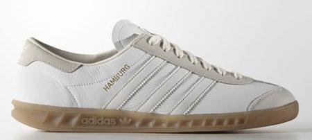white leather adidas hamburg