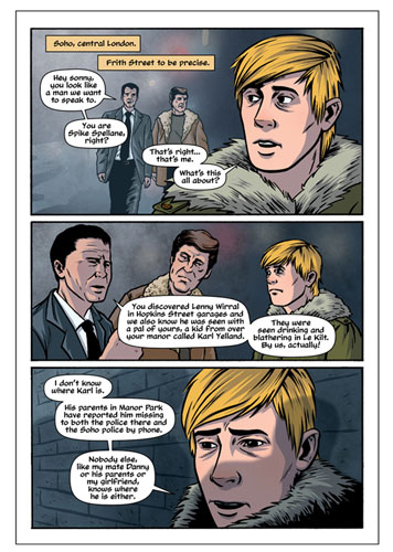 Living for Kicks: A Mods Graphic Novel by Jim McCarthy and Marc Olivent