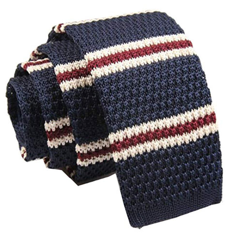 Budget vintage-style knitted ties at Amazon