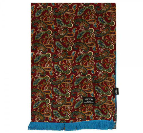 New drop of Tootal Vintage silk scarves at Stuart's of London